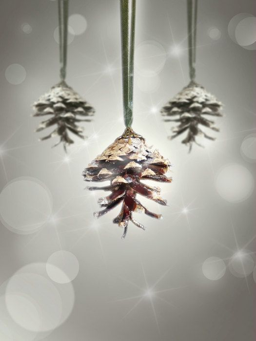 how to make a pine cone christmas tree