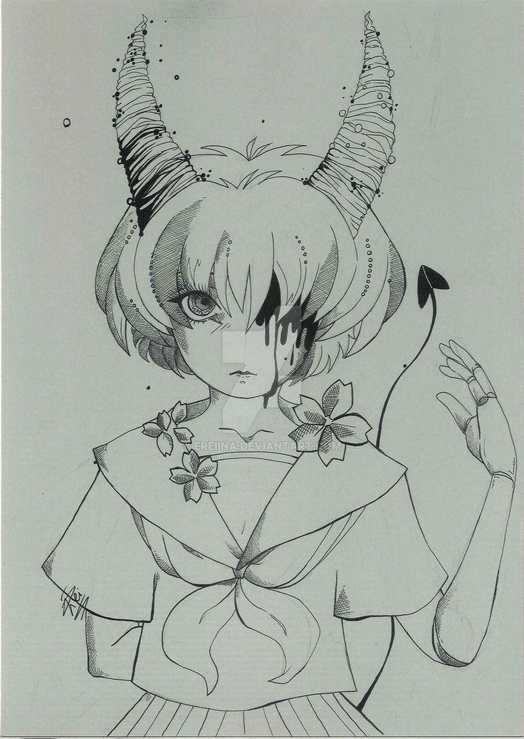 devil doll by eREIina.deviantart.com on @DeviantArt