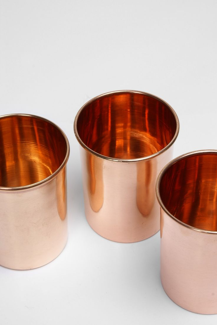 copper cups by Yield Design Co, for inspiration and perhaps to incorporate more warm metal into the space