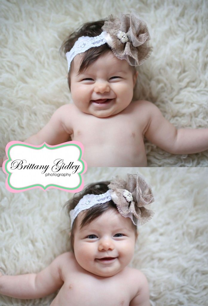 4 month old baby brittany gidley photography llc