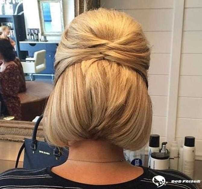 15 Einfache Hochsteckfrisuren für kurzes Haar