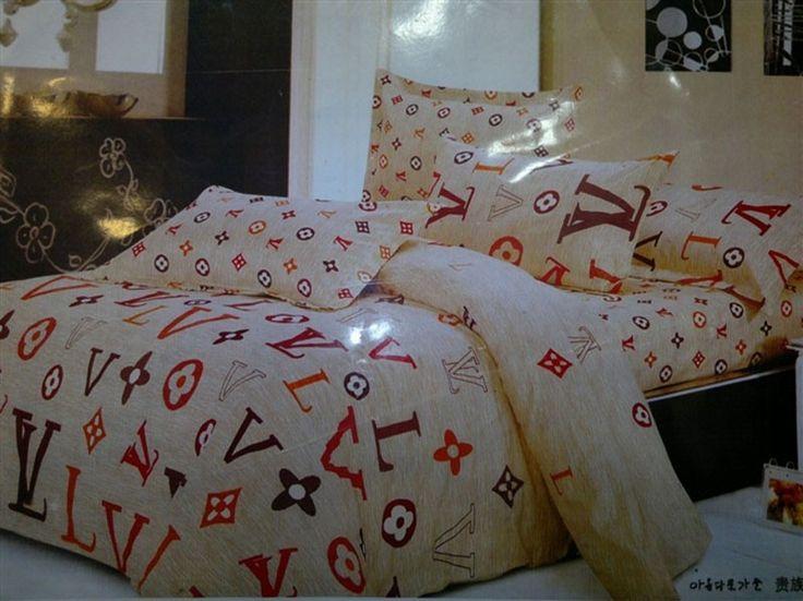 nicht verpassen louis vuitton lv bettw sche g nstig billig gut preiswert king size seide. Black Bedroom Furniture Sets. Home Design Ideas