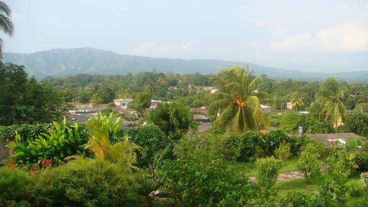 Garden at Jucuapa city, El Salvador