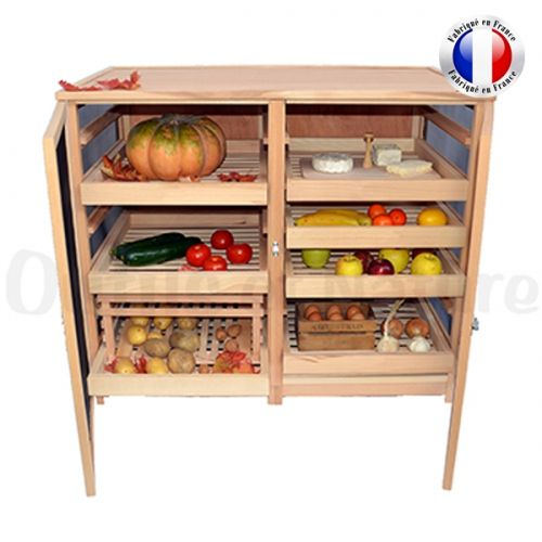 garde manger lgumier fruitier grand modle portes masy with meuble garde manger. Black Bedroom Furniture Sets. Home Design Ideas