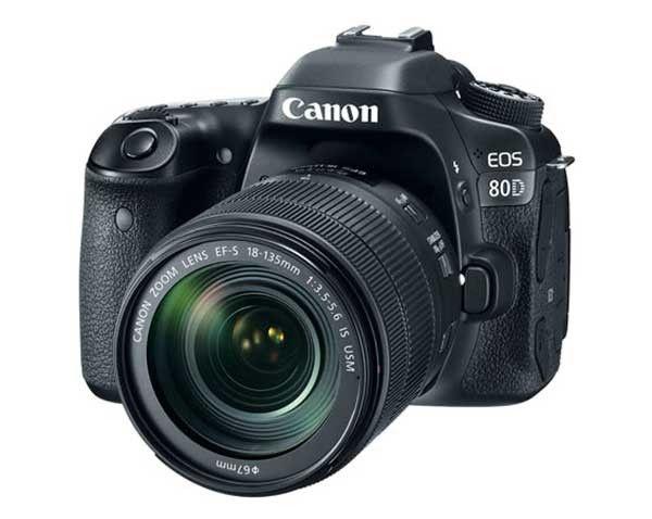 Canon EOS 80D +18-135mm USM Lens