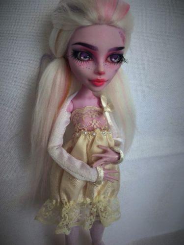 Monster high Operetta doll , fairy ooak repaint