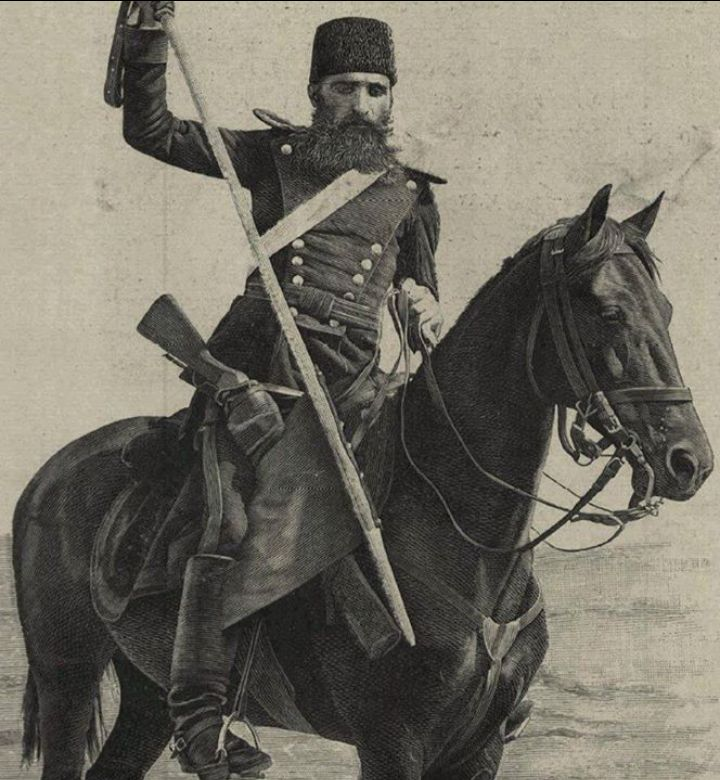 Ottoman Turkish soldier from 1890.