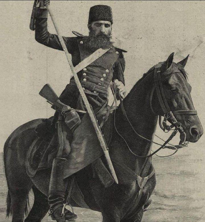 Ottoman Turkish soldier from 1890.