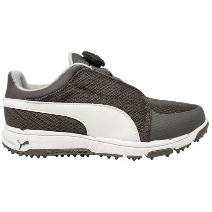 Puma Kids' Grip Sport JR Disc Golf Shoes, Gray