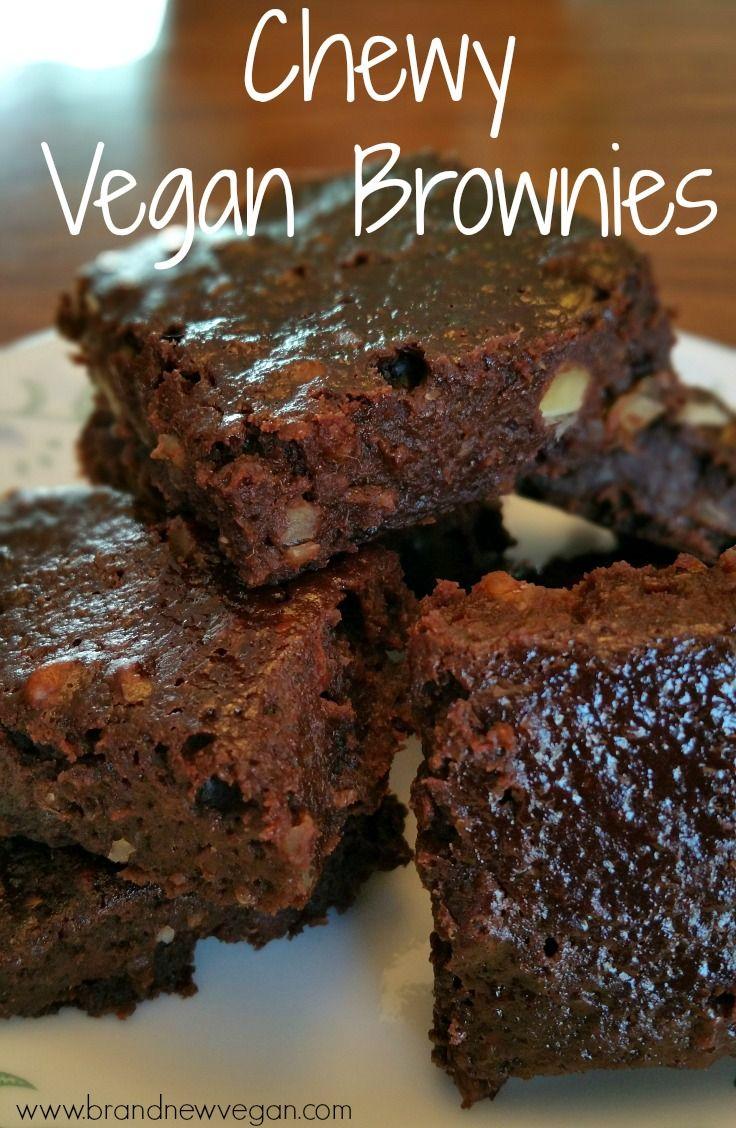sport shoes brand logos Chewy Vegan Brownies Recipe Vegan Brownie Brownies and Vegans