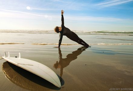 """You can't stop the waves, but you can learn how to surf."" a powerful article on surfing and yoga... I can relate whole heartedly, as I surf my clients during every session as a moving meditation. Great great article that I love.... read it!"