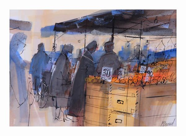 Fruit Market, mike bernard