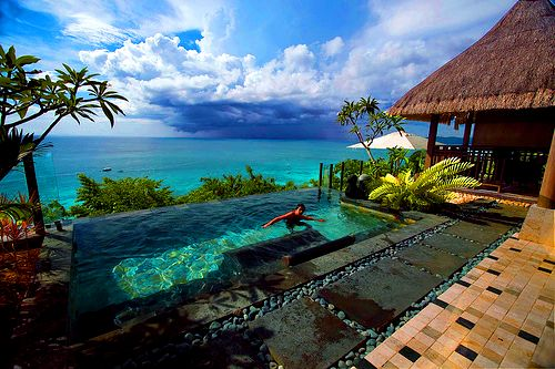 Amazing.: Favorite Places, Need A Vacations, Vacations Spots, The View, Mornings Coff, Beaches Houses, Infinity Pools, Heavens, Tropical Places