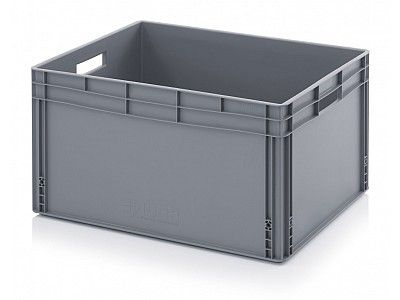 172 Litre Extra Large Plastic Stacking Container - Stackable Straight Sided Storage Box