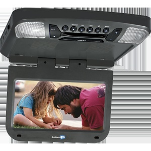 AVXMTG9B - 9 inch monitor with built-in DVD player (black finish)