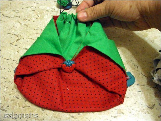 Необычная сумочка в японском стиле. Unusual bag in Japanese style