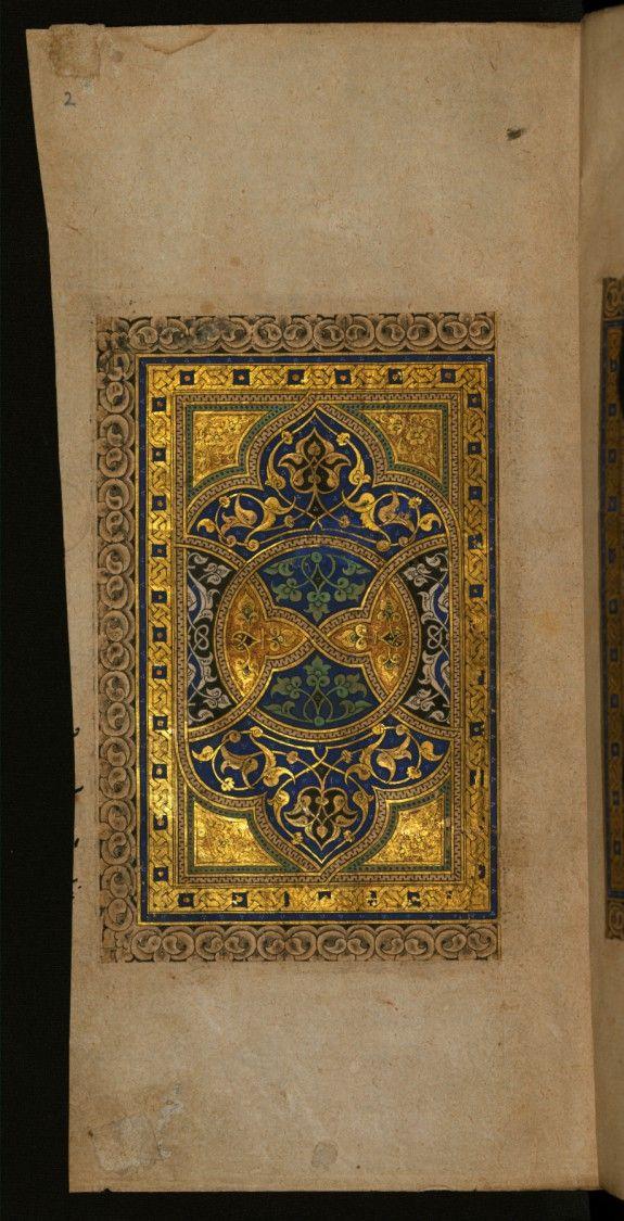 Illuminated book.