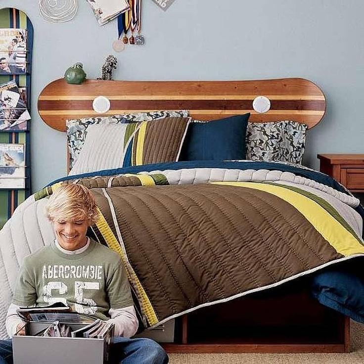 cabecera de cama snowstyle, guay!