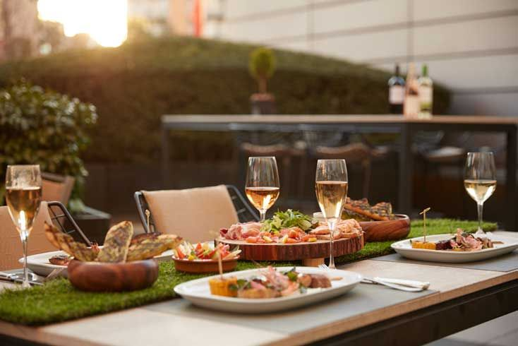 [Online Special Offer] Gardenic Terrace Barbecue with Free-Flowing Beverages