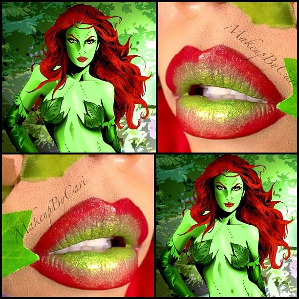 17 Best Ideas About Poison Ivy Makeup On Pinterest Poison Ivy Costume Diy Poison Ivy Costumes