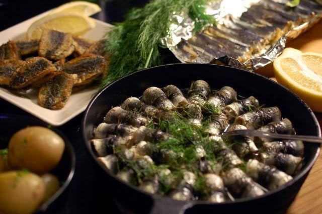 Perinneruokaa prkl!: Silakkaviikonloppu: silakkaa kolmella tavalla
