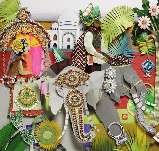 jo lynn alcorn - india inspired paper cut