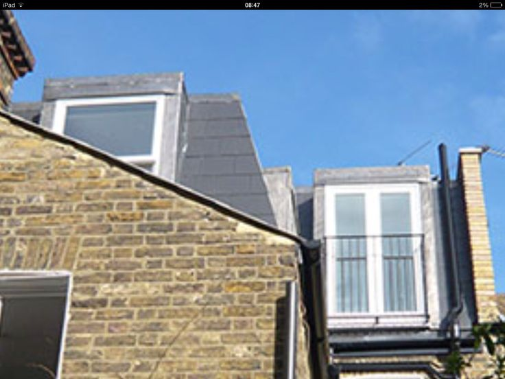 Generally allowable mansard, Juliette balcony and rear extension with 70 degree sloping roof