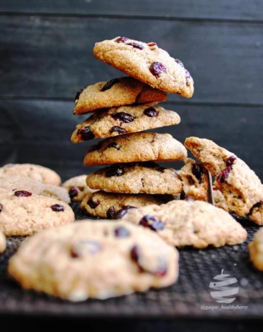 Cranberry Coconut Cookies