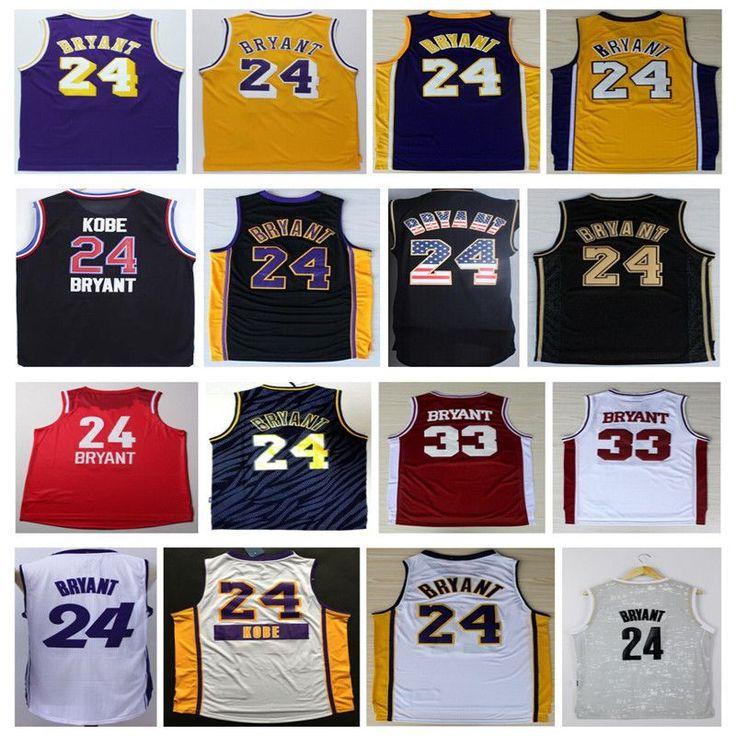 Kobe Bryant 24 Basketball Jersey,Stitched Mens New Rev 30 Kobe ...