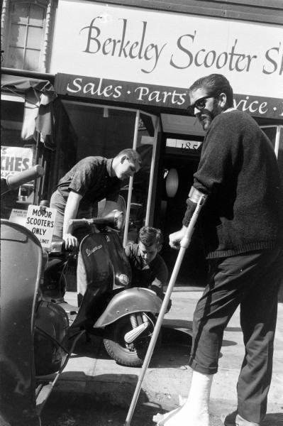 Berkeley Scooter Shop 60s