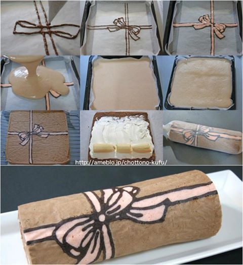 bisquit con fiocco - Icakebake