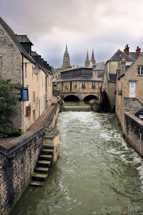 Downtown Bayeux ~ Normandy #GeorgeTupak