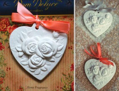 """Арома украшение """"Сердце"""" с ароматом чайной розы"""