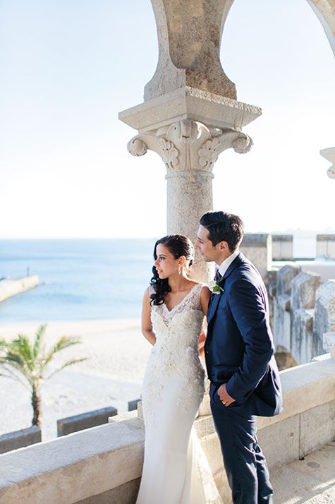 A gorgeous luxurious wedding at the Fort in Estoril Portugal! For more info please email us at: info@lisbonweddingplanner.com