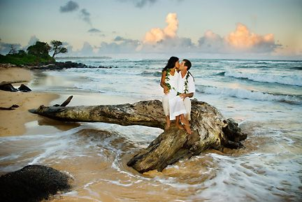 I have always dreamed of Hawaii once I'm married. Just seems whimsicle somehow...
