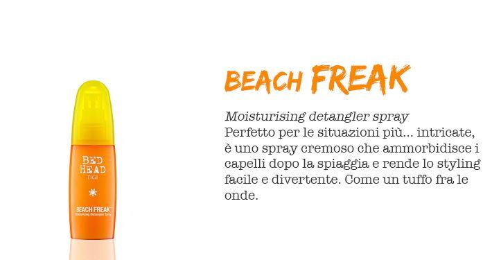 BEACH FREAK  #TIGI #SUMMER #THEBEACHISBACK