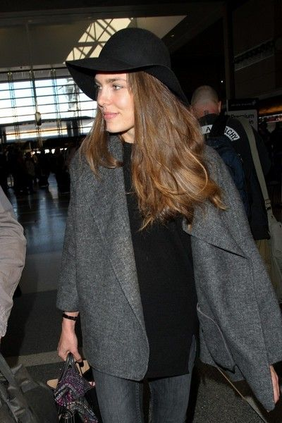 Charlotte Casiraghi Photos - Charlotte Casiraghi seen at LAX - Zimbio