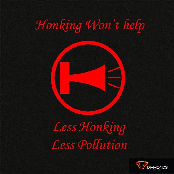 Honking does not solve traffic jams.