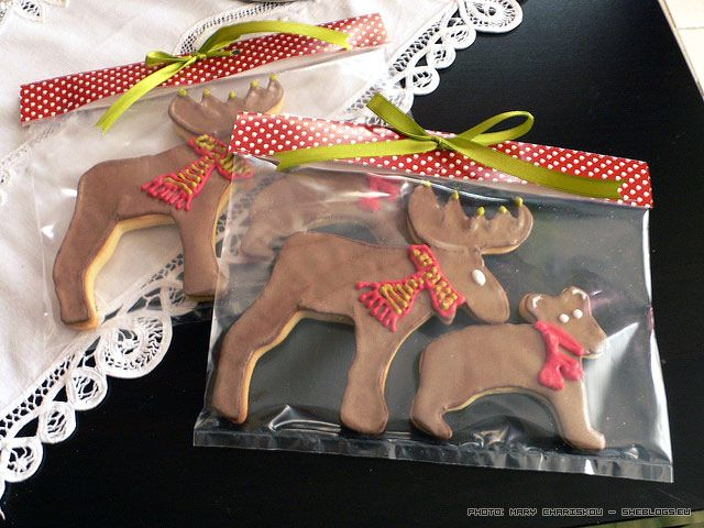 Συσκευάστε Χριστουγεννιάτικα Κουλουράκια για δωράκια