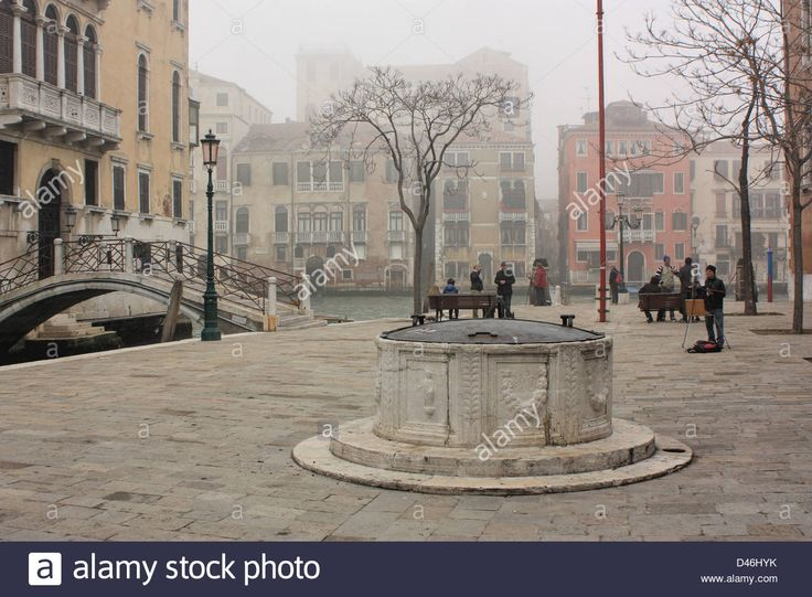 Foggy Winter Scene In Venice, Italy Stock Photo, Royalty Free Image: 54235543 - Alamy