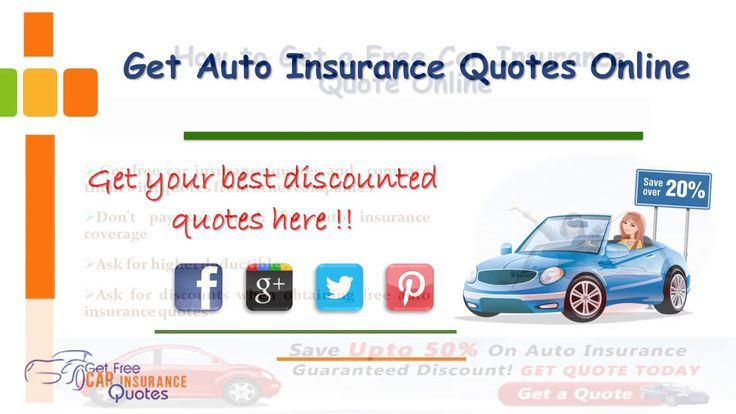 Get Auto Insurance Quotes From Multiple Companies Auto