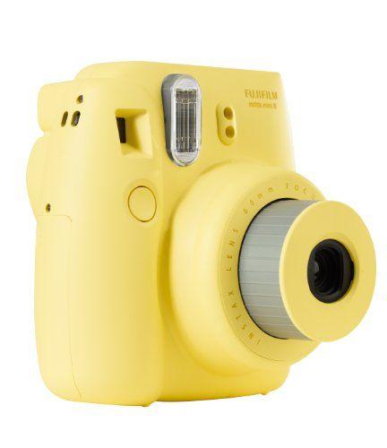 Fujifilm Instax Mini 8 Fotocamera Istantanea per Stampe Formato 62x46 mm, Giallo Fujifilm http://www.amazon.it/dp/B00C25731U/ref=cm_sw_r_pi_dp_XQn6tb0AVGQ3T