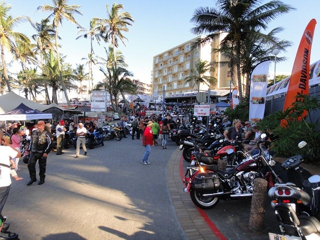 Loads for bike enthusiasts to see