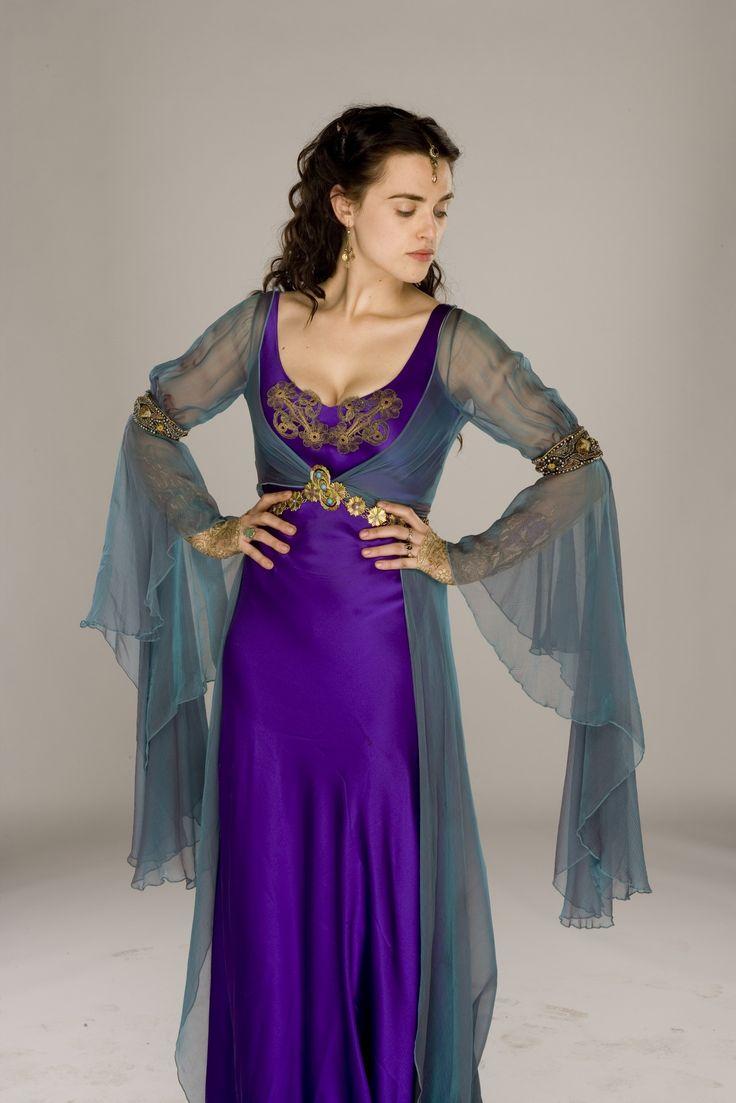Morgana S Purple And Blue Dress Fom Bbc S Merlin