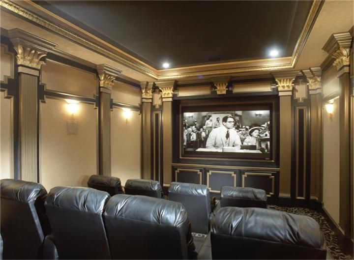 160 best HOME THEATRES images on Pinterest | Cinema room ...