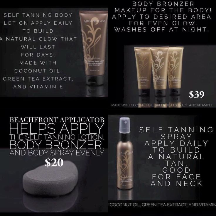 Younique's new self tanning products. Summer's getting close but get your tan on early. Get yours at http://www.youniqueproducts.com/TrishKaehne/party/3566430/view  #younique