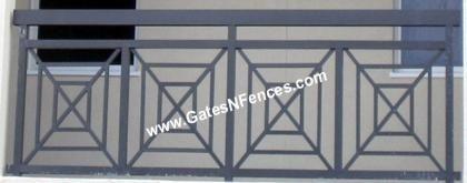 Modern Edition - Aluminum Railings, Balcony, Porch, Deck, More.