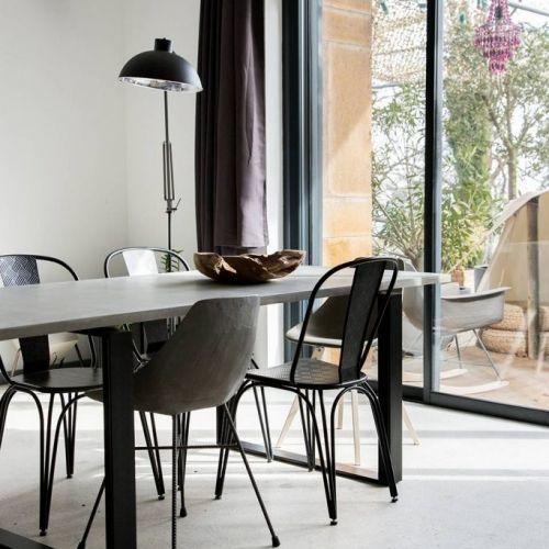 17 meilleures id es propos de table en b ton sur for Table beton cellulaire