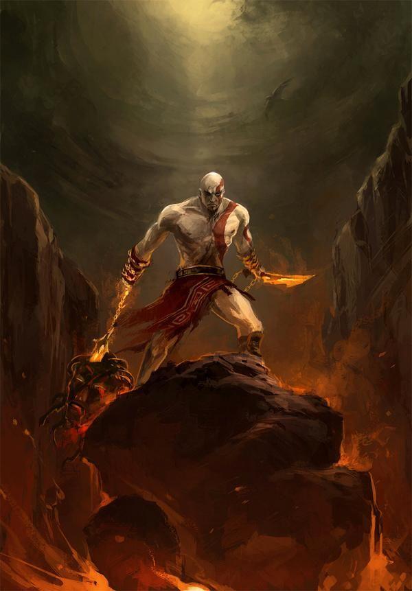 Kratos by Sandara.
