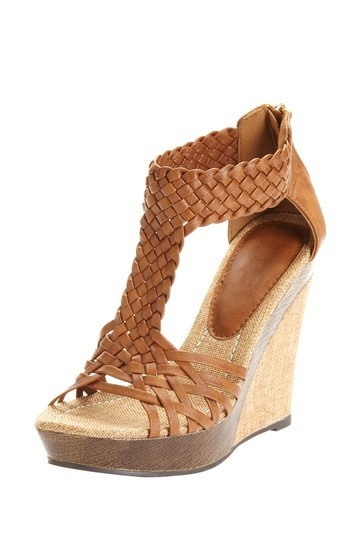 I'm obsessed with wedges - and these look comfy!